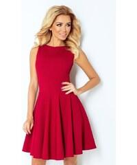 8a3043e5d9 Grace Shop Alkalmi ruha, divatos, loknis aljú, bordó, 125-1