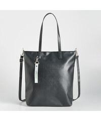 Sinsay - Shopper típusú táska függővel - Fekete bafb2ebac8