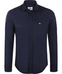 Tmavě modrá elegantní košile od Lacoste 5eb34d60c8