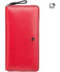 Visconti velká červená kožená peněženka 6aea0222254