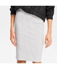 386531cad03 Reserved - Pouzdrová sukně - Bílá