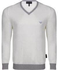 Béžovo-šedý elegantní svetr od Emporio Armani 3094015049