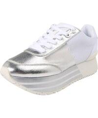 74455f2e1d Calvin Klein Jeans Tenisky  Sneaker  stříbrná   bílá