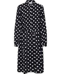 VILA Košilové šaty  Vidotla  černá   bílá c26038d5386