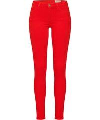 01b16ad2013 Červené dámské džíny