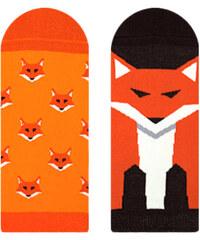 cae2bb63d31 Veselé ponožky Nanushki Stopki FireFox Sox