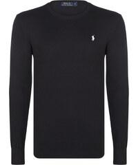 f8476f80a3d Černý prémiový svetr od Ralph Lauren
