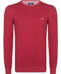 Červený svetr z prémiové bavlny od Gant 4412209b7f