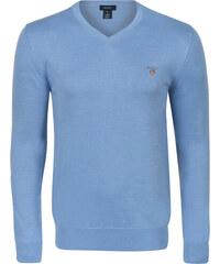 fc6b7576e805 Svetlo modrý elegantný sveter od Gant