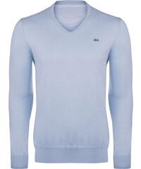 0704d55add Světle modrý elegantní svetr od Lacoste