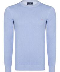 a951c4608fc Světle fialový svetr z prémiové bavlny od Gant
