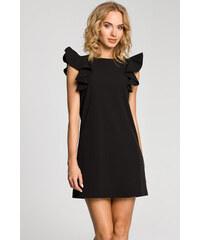 ... AX Paris šaty Čierne šaty Šaty s odhalenými ramenami S volánmi šaty  Malé čierne šaty Puzdrové šaty Zoot.sk · Čierne šaty MOE 099 a075a1e1cf0