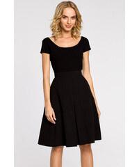ecb2624db9c0 Čierna sukňa MOE 184