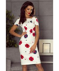 Bergamo Viacfarebné kvetované šaty M54830 c73b3dcfc3e