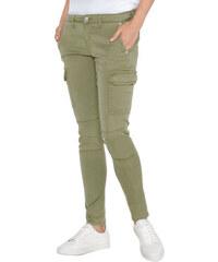 Pepe Jeans dámské zelené kapsáčové kalhoty Survivor c129351955