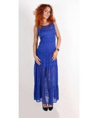 94328a51e71e Tmavě modré maxišaty s krajkovým topem ONLY Maja - Glami.cz