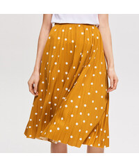 5715204cf755 Reserved - Plisovaná sukňa - Žltá