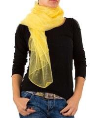 c7eab719400 Žluté dámské šály a šátky