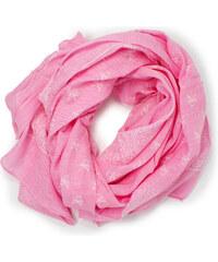 Růžové dámské šály a šátky  b92b9755a4