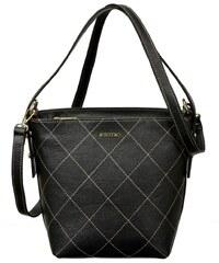 Dámská kožená kabelka Bosccolo 5376 - černá 677527b192