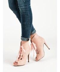 363416b326b Dámské boty s otevřenou špičkou