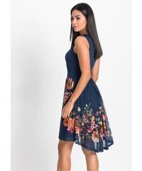 bonprix Žerzejové šaty se síťovanou sukní 29d586e79b