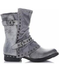 Lady Glory Univerzální Dámské boty šedé 5432b4c2a0