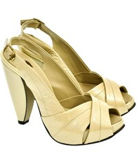 4f6c22d32858 JOHN-C Dámske béžové sandále CARLA 36