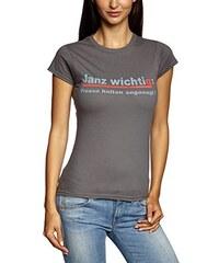 Mario Barth Damen T-Shirt Janz wichtig: Fresse halten angesagt!