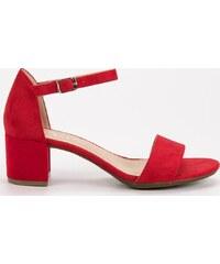 e646d20088 Červené Dámske sandále z obchodu Londonclub.sk