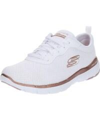 192c0fd6574 SKECHERS Sportovní boty  Flex Appeal 3.0  růžově zlatá   bílá