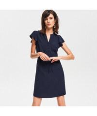 Reserved - Mini ruha megkötővel - Tengerészk 445323b8d3