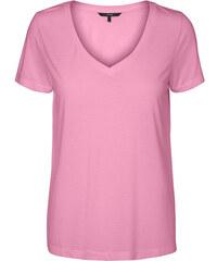 a415fd3c4c58 Vero Moda Dámske tričko Spicy V-neck Ss Top Color Prism Pink