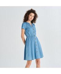 c4301944ad7c Sinsay - Džínsové šaty - Modrá