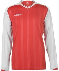 addf10e87dfa Triko Umbro Long Sleeve Top pánské Red White
