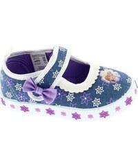 da858edbaa1b Disney by Arnetta Dievčenské papučky Frozen - modré