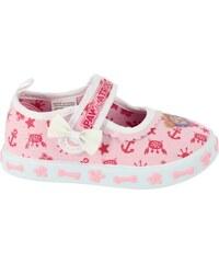 e9f950205a1f Disney by Arnetta Dievčenské gumové sandále Minnie - svetlo ružové ...