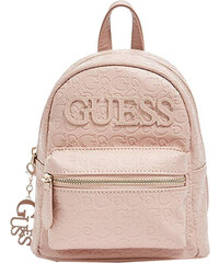 ec4cf560145 Guess Dámský batoh Factory Women`s Feliz Logo Convertible Mini Backpack Pink