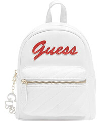 931a23f9f38 Guess Dámský batoh Factory Women`s Feliz Logo Convertible Mini Backpack  White
