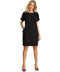 97af1c503bbf Moe Dámské denní šaty Moe 107528 černé - černá