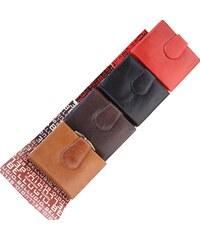 ca73a1db57 Bellugio Malá kožená peňaženka ADF-21-110 - svetlohnedá ADF-21-110