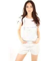 Pepe Jeans dámské světle modré šortky s laclem Petra adf6da7353