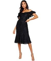 d329f747097 BOOHOO Prémiové krajkové midi šaty