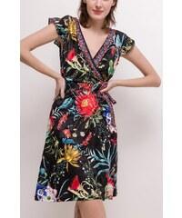 Dámské šaty 101 IDÉES černé-A5532 9bf8ab600f