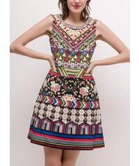 Barevné šaty 101 Idées A5921 0c1faf35c8