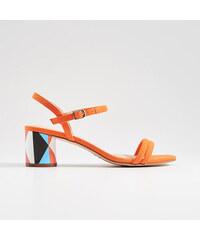 a570b8f2f4 Mohito - Sandále s ozdobným opätkom - Oranžová