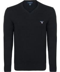 Černý elegantní svetr od Gant 7b849072b7