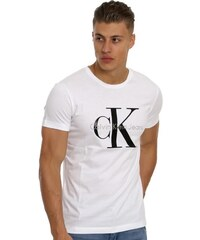 dbb3c35e7ce2 Pánské tričko Calvin Klein Jeans - bílá