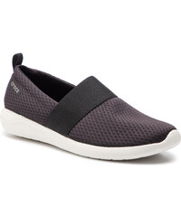 Sneakersy CROCS - Literide Mesh Slip On W 205727 Black White b4a7594b5bf