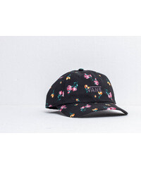 fcf21dfce4b Vans Court Side Print Cap Black  Satin Floral